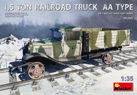 MiniArt 1,5 Ton Railroad Truck AA Type 1:35