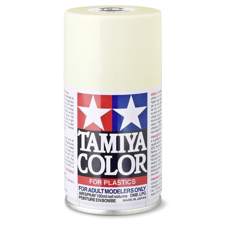Tamiya TS-7: Racing White