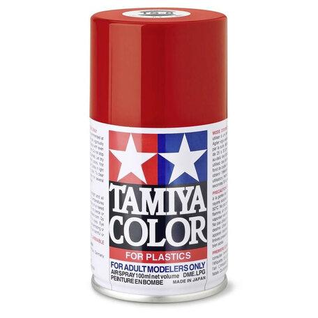 Tamiya TS-8: Italian Red