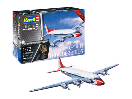 Revell C-54D Thunderbirds Platinum Edition 1:72