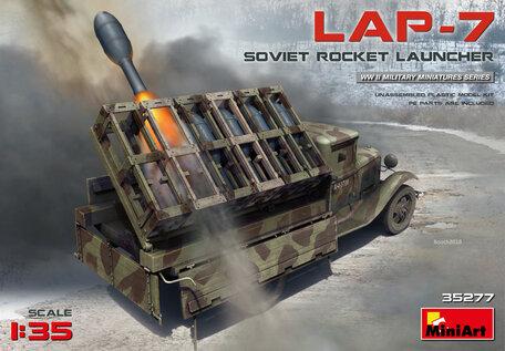 MiniArt Soviet Rocket Launcher LAP-7 1:35