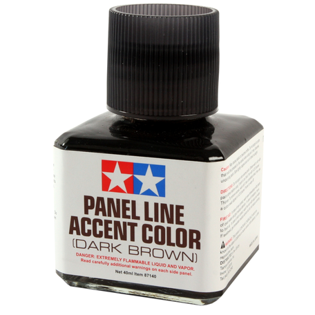 Tamiya Panel Line Dark Brown (87140)