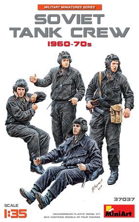 MiniArt Soviet Tank Crew 1960-70S 1:35