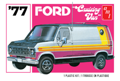 AMT '77 Ford Cruising Van 1:25