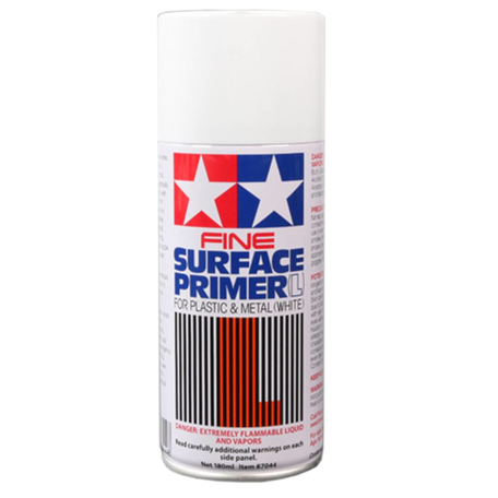 Tamiya Fine Surface Primer White 180 ml