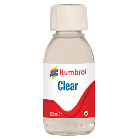 Humbrol Gloss Clear Vernis 125ml