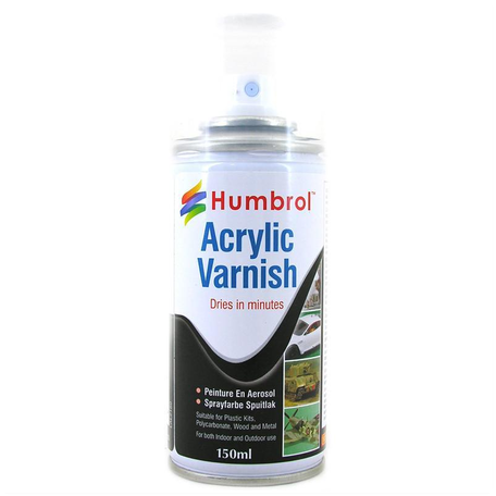 Humbrol Acrylic Matt Vernis Spray (6049)