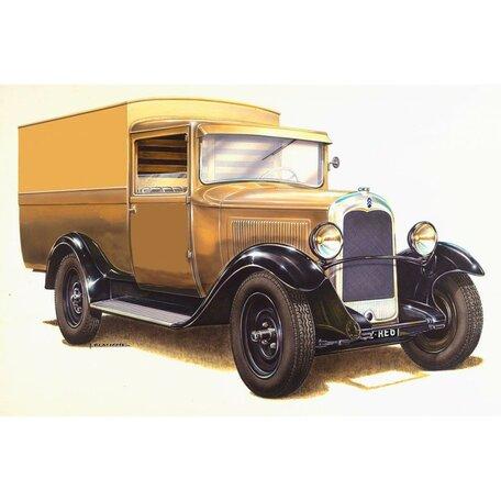 Heller Citroen C4 Fourgonnette 1928 1:24