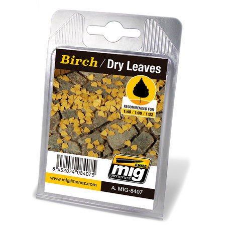 AMMO Laser Cut Leaves Birch Dry (8407)