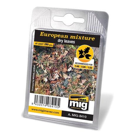 AMMO Laser Cut Leaves European Mixture Dry (8410)