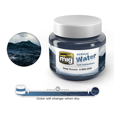 AMMO Acrylic Water Deep Oceans (2200)