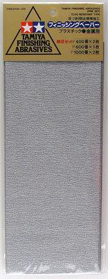 Schuurpapier P400 / P600 / P1000 (Tamiya)