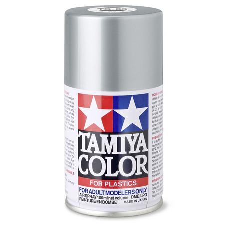Tamiya TS-83: Metallic Silver