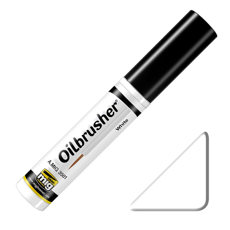 AMMO Oilbrusher: White (3501)