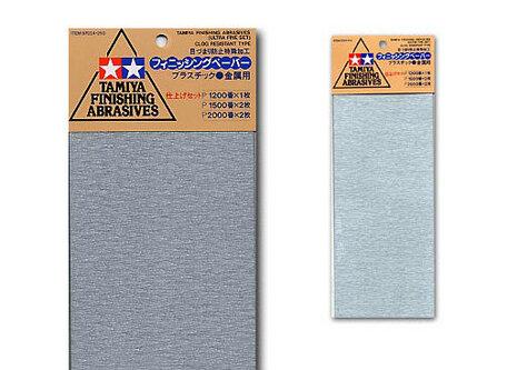 Schuurpapier P1200 / P1500 / P2000 (Tamiya)