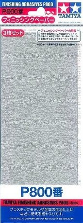 Schuurpapier P800 (Tamiya)