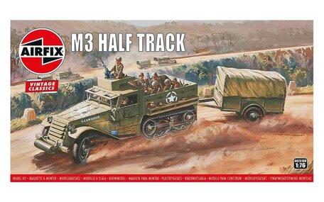 Airfix M3 Half Track & 1 Ton Trailer 1:76