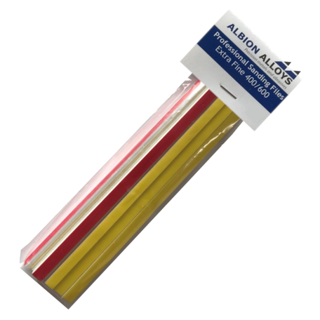 Albion Alloys Sanding Files Grit 400/600 6 mm