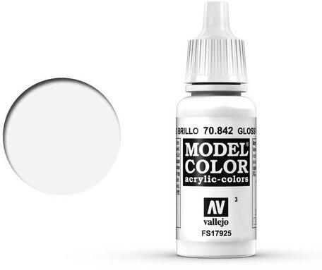003. Vallejo Model Color: Gloss White (70.842)