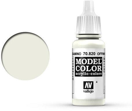004. Vallejo Model Color: Off White (70.820)