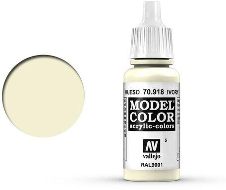 005. Vallejo Model Color: Ivory (70.918)