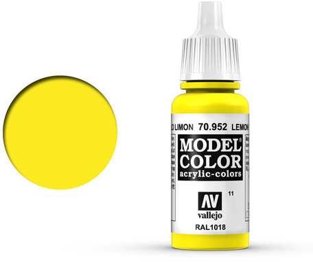 011. Vallejo Model Color: Lemon Yellow (70.952)