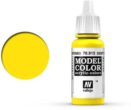 014. Vallejo Model Color: Deep Yellow (70.915)