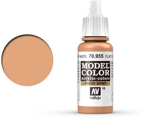 018. Vallejo Model Color: Flat Flesh (70.955)