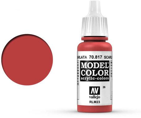 026. Vallejo Model Color: Scarlet (70.817)