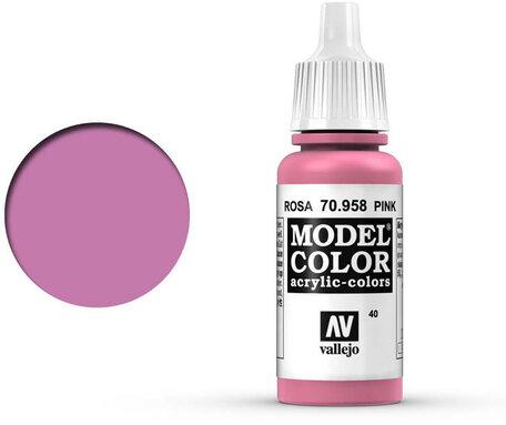 040. Vallejo Model Color: Pink (70.958)