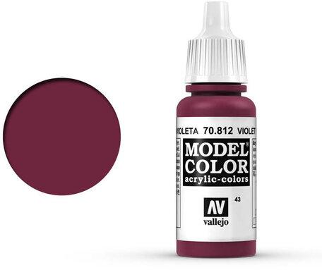 043. Vallejo Model Color: Violet Red (70.812)