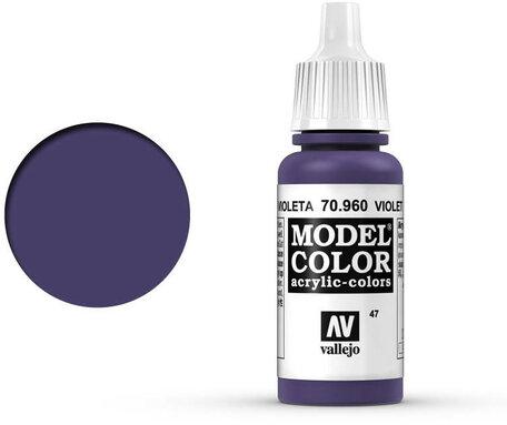 047. Vallejo Model Color: Violet (70.960)