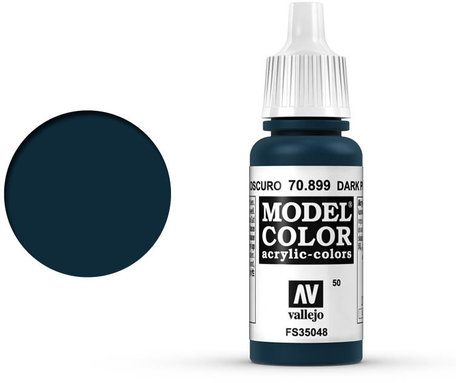 050. Vallejo Model Color: Dark Prusia Blue (70.899)