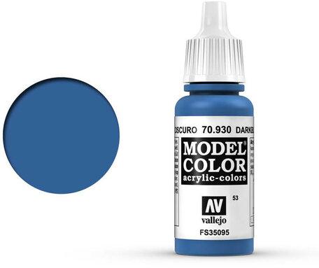 053. Vallejo Model Color: Dark Blue (70.930)