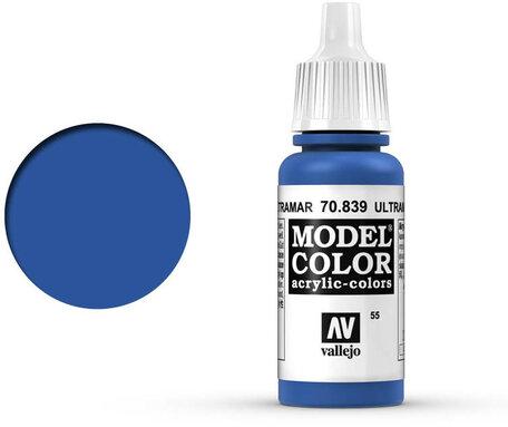 055. Vallejo Model Color: Ultramarine Blue (70.839)