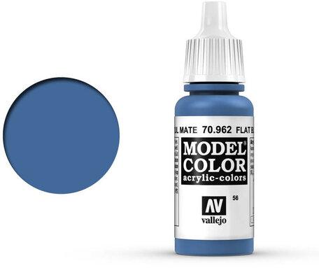 056. Vallejo Model Color: Flat Blue (70.962)