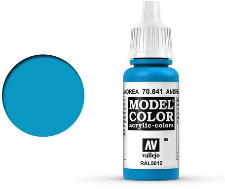 065. Vallejo Model Color: Andrea Blue (70.841)