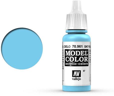 067. Vallejo Model Color: Sky Blue (70.961)