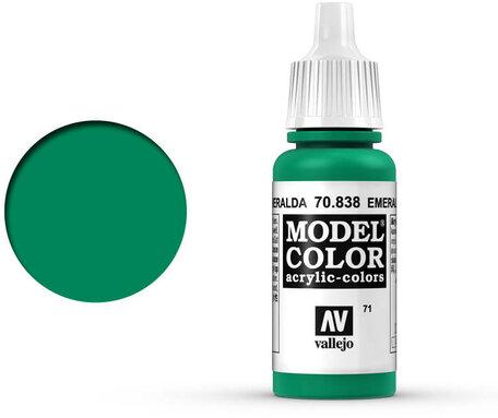 071. Vallejo Model Color: Emerald (70.838)