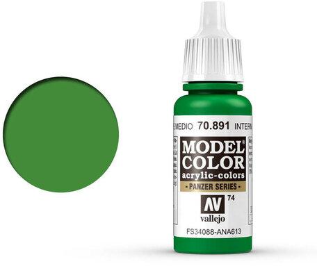 074. Vallejo Model Colors: Intermediate Green (70.891)
