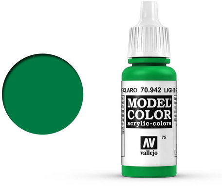 075. Vallejo Model Color: Light Green (70.942)