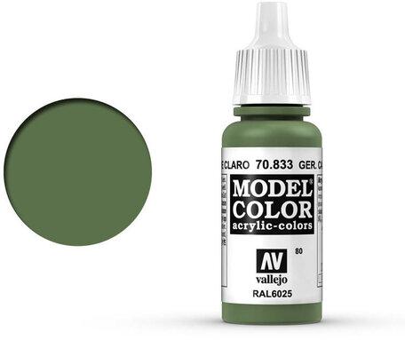 080. Vallejo Model Color: German Camo Bright Green (70.833)
