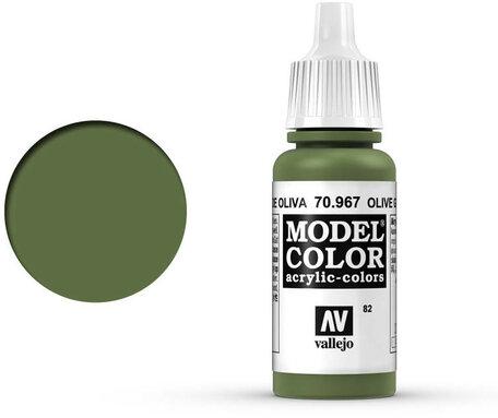 082. Vallejo Model Color: Olive Green (70.967)