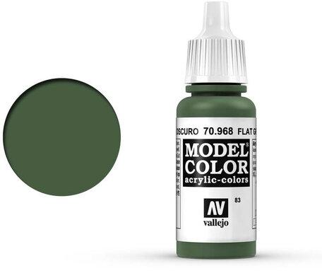 083. Vallejo Model Color: Flat Green (70.968)