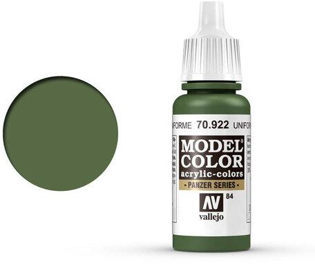 084. Vallejo Model Color: Uniform Green (70.922)