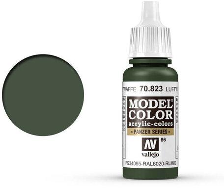 086. Vallejo Model Color: Luftwaffe Camo Green (70.823)