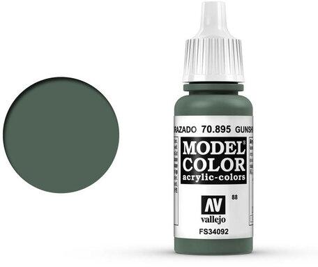 088. Vallejo Model Color: Gunship Green (70.895)