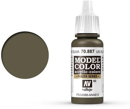 093. Vallejo Model Color: US Olive Drab (70.887)