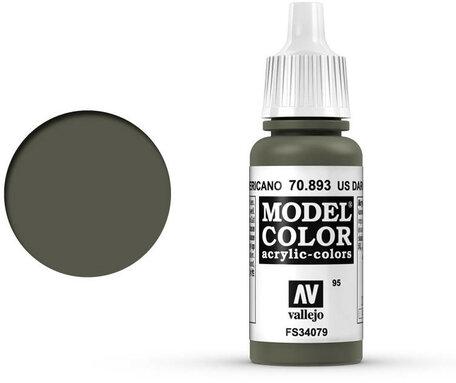 095. Vallejo Model Color: US Dark Green (70.893)