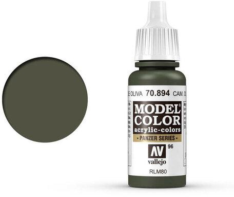 096. Vallejo Model Color: Camo Olive Green (70.894)